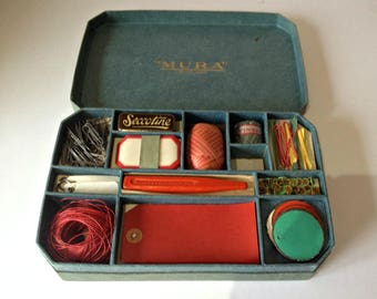 Vintage Mobile Office, Vintage Packaging Items, Office In A Box, Vintage  Office Stationery