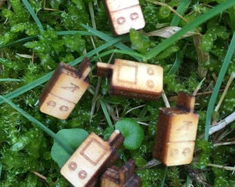 wooden mini gps (10 pieces)