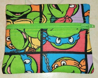 Teenage Mutant Ninja Turtles coin purse