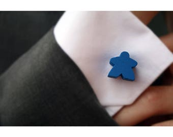 Meeple Cufflinks - Various Colours