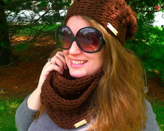 Chunky Winter Hat, Adult Winter Hat, Slouchy Hat, Chunky Hat, Slouch Hat, Slouchy Winter Hat, Winter Hat, Crochet Hat