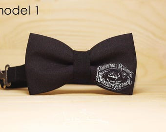 Individual bow tie in black