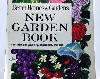 Vintage Better Homes & Gardens New Garden Book, 1961, Year Round Gardening Guide