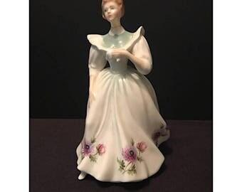 Vintage Royal Doulton Porcelain Figurine of the Month - March