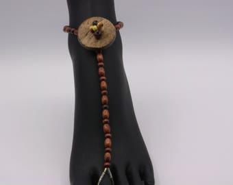 Button Top Barefoot Sandal  (Single Foot)  Women's Size 7