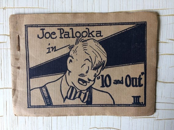Tijuana Bibles 8 Pagers Vintage Porn Joe Palooka In 10-7702