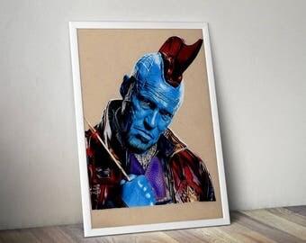 Yondu - Fine Art Print - A4