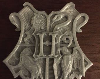 Harry Potter Crest: 3d Printed!