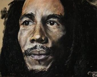 A3 Bob Marley Print