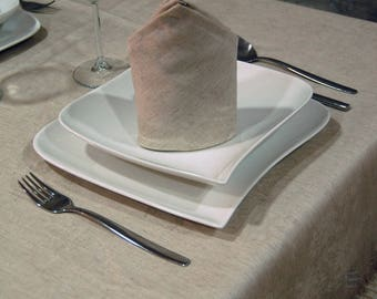 Top Quality Jacquard Linen Tablecloth