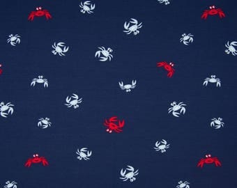 0.5 m Jersey Maritim cancer crab red blue white