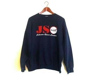Vintage NASA Johnson Space Center crew jumper sweatshirt