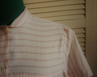 Vintage '60s Blouse, Short Sleeves