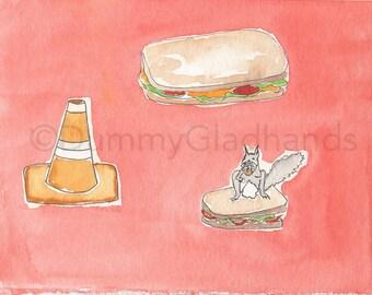 Ice cream? Sandwich?  Just a cone?