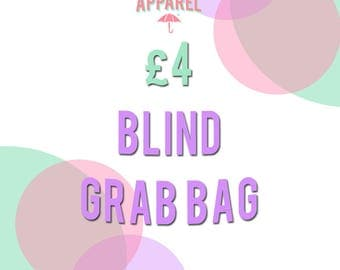 RainyDay Apparel Four Pounds BLIND GRAB BAGS (Discounted Accessories!)