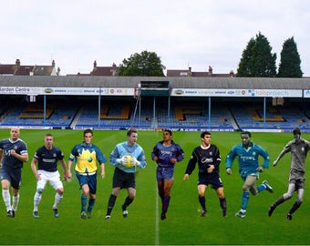 Southend United Legends Canvas