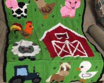 Farm Friends Quilt Pattern Pdf Instant Download Farm