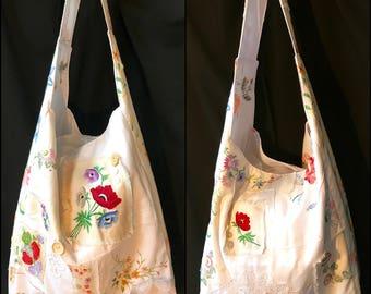 Table linen swag bag