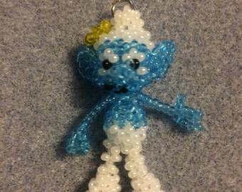 Vanity Smurf doll pendant.