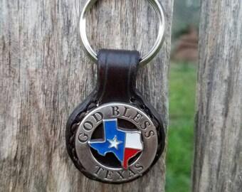 Key Ring / God bless Texas