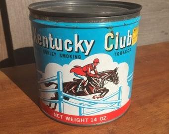 Vintage Tobacco Tin *