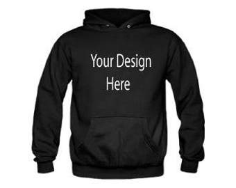personalized pullover hoodie
