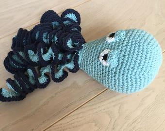 Octopus activity toy pattern