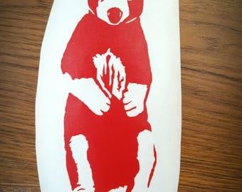 Vinyl Decal - Tree Kangaroo