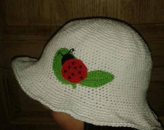 Ladybug garden Hat