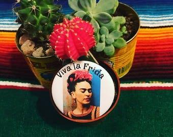 Viva la Frida Button