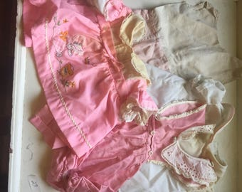 Pink doll clothing