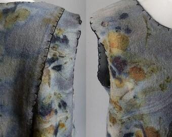 Natural Dyed Wool Tunic Dress