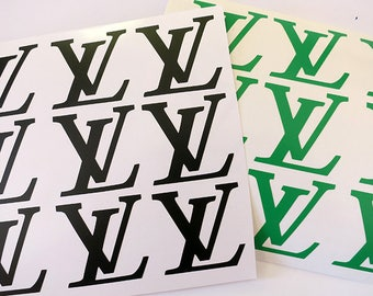 Set-12 Louis vuitton  vinyl decals.