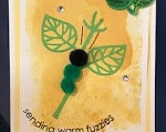Sending Warm Fuzzies Greeting Card