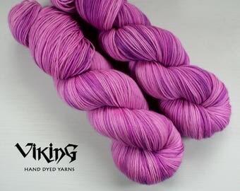 SALE!! Hand Dyed Yarn - Superwash Merino, Cashmere & Silk in 'Venus'