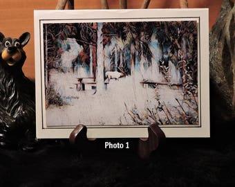 Artistic Card Set / Elk Picnic