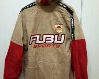 Rare Vintage FUBU SPORTS 92' World Champions Riversible Jacket