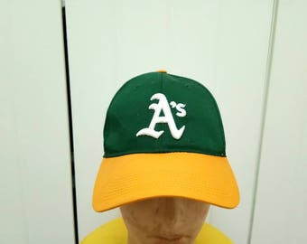Rare Vintage OAKLAND ATHLETICS Cap Hat Free Size Fit All
