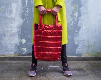 Winter Tote Bag_red