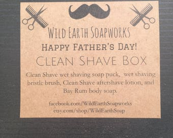 Father's Day Wet Shave Box