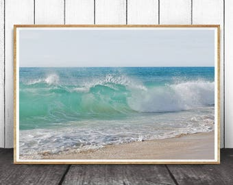 Ocean Print, Ocean Waves ,Ocean Water, Ocean Decor, Sea Decor, Ocean Photography, Ocean Wall Art, Ocean Waves Print, Digital Download, Ocean