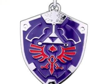 Legend of Zelda Necklace Hylian Shield