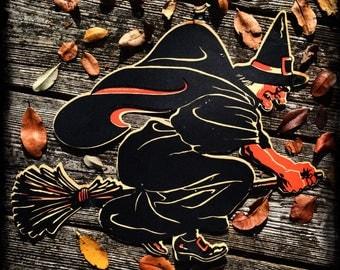 Vintage halloween decorations | Etsy