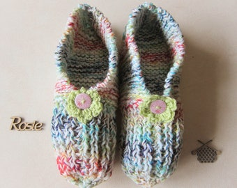 Night woman sweets shades flower and button booties