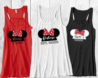 Disney bachelorette party shirt