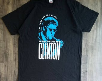 Clinton The Cure For The Blues Size Size XL