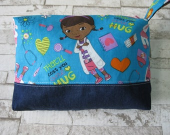 """Clutch, pouch first care S.O.S. bobo, 7.5 """"long x 5"""" x 2 """"wide"""