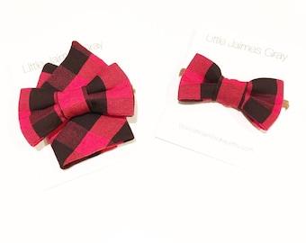 Boys bow tie, pocket square