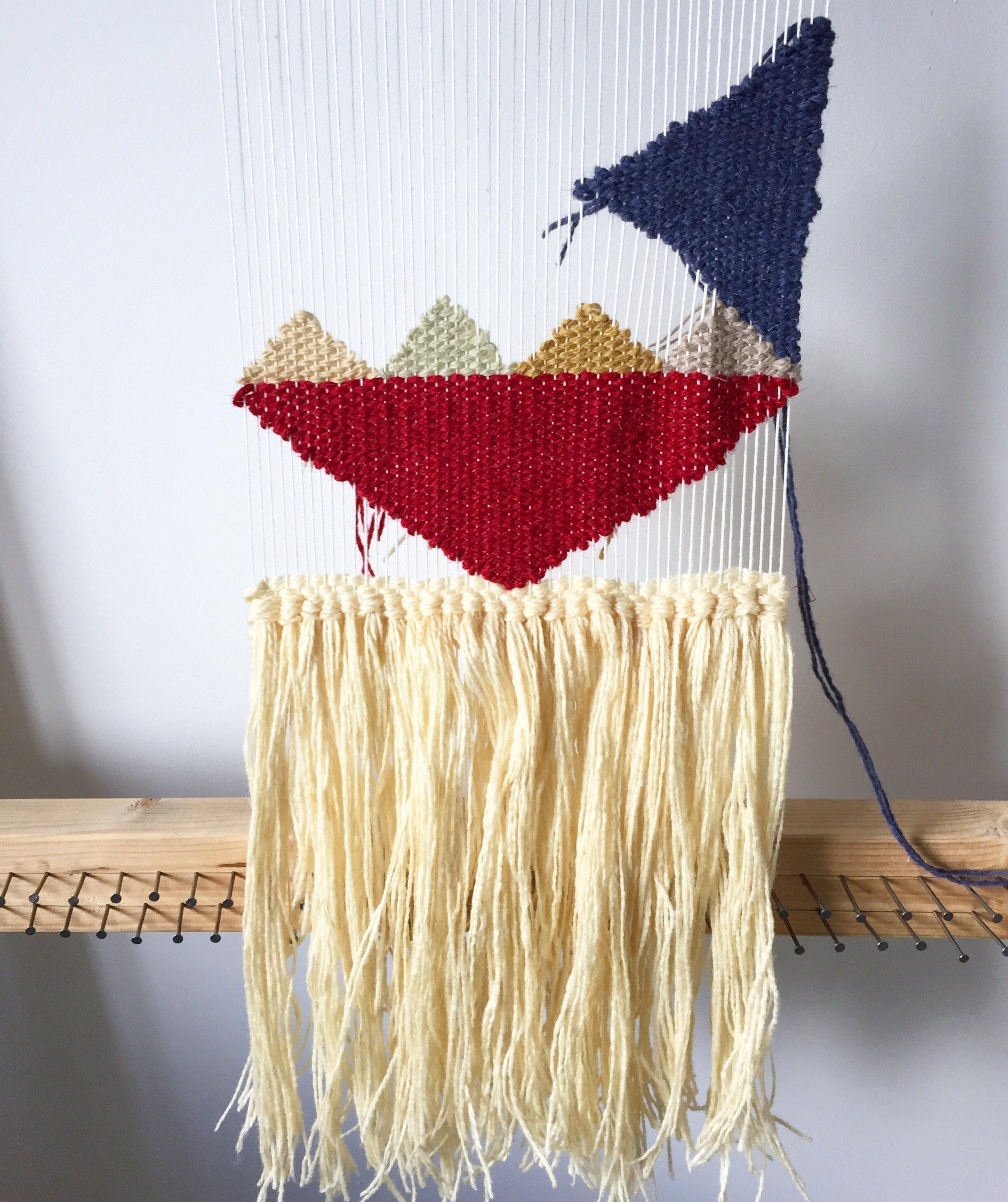 Woven Wall Hanging - Fall - Boho Wall Hanging Weaving Wall Tapestry ...