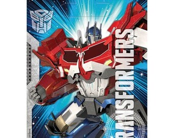 Transformers Treat Bags [8ct] Optimus Prime Birthday Party Favor Supplies